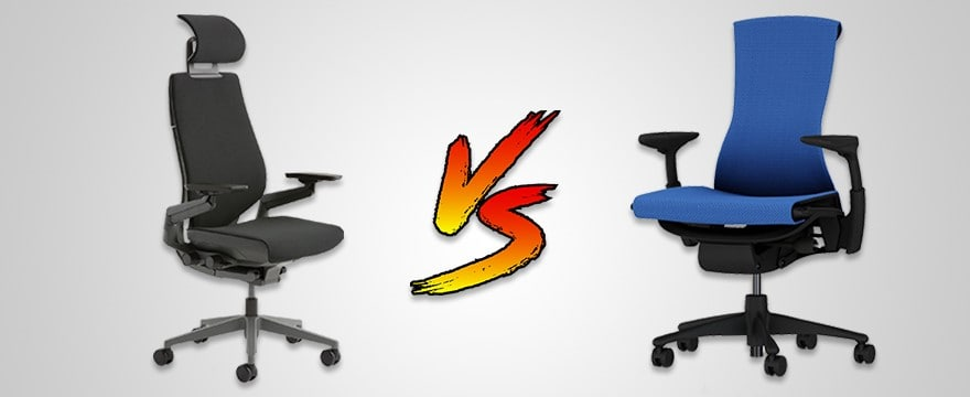 Steelcase Gesture vs Herman Miller Embody: Mammoth Battle