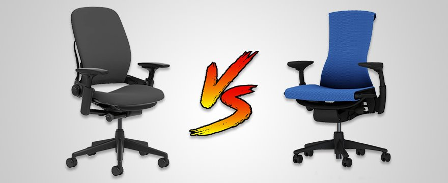 Herman Miller Embody vs Steelcase Leap: $1000 Office Chairs